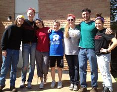 Our young volunteers during the spring break. Interested in volunteering? Click the pic for an application