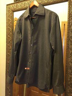 BURBERRY LONDON Dress Shirt, Size 16-41, Made in U.K. #Burberry #BURBERRYLONDON #DressShirt #Size16-41 #Shirt #Mens