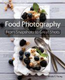 """Food Photography: From Snapshots to Great Shots Food Photography: From Snapshots to Great Shots Edit    Are you a """"foodie"""" looking to take eye-catching photos of your culinary concoctions? Do you have a food blog that you'd like to enhance with better visuals? Do you want to create photos that conjure up the flavors of your favorite foods but lack the photographic technique to make it happen? Then this book is for you! $14.99"""