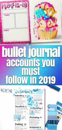 Bullet Journal Inspiration for 2019: 19 Best Accounts You Must Follow Bullet Journal Contents, Bullet Journal Tracker, Bullet Journal How To Start A, Bullet Journal Spread, Bullet Journal Layout, Bullet Journal Inspiration, Bullet Journals, Journal Ideas, Planner Journal