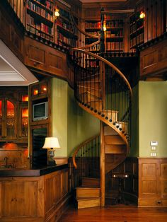 Mediterranean Staircase Floating Staircase