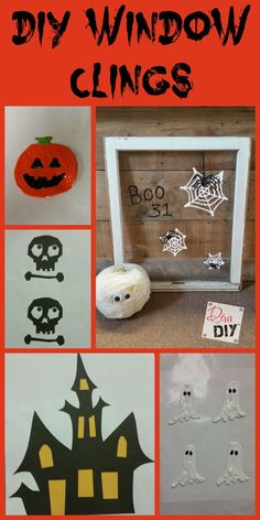 Make your own homemade window clings