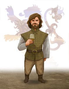 Tyrion Lannister from GAME of THRONES Song of Ice by LeannHillArt