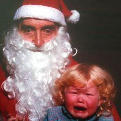 Share your Creepy Santa Claus pictures. Kids are scared of Santa. He can be silly & scary, but most Santas are the most warm hearted people in the world. Share your photos and decide for yourself. Christmas Is Over, Father Christmas, Christmas Stuff, Creepy, Scary, Strangers When We Meet, Xmas Photos, George Foreman, Picture Story