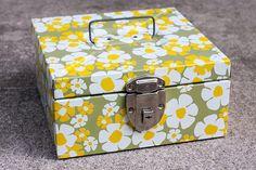 adorable metal lock box