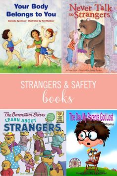 5 Great Books to Teach Children About Safety, Strangers, and Privacy