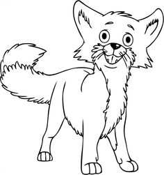 Fox Coloring Pages Free Printable Procoloring