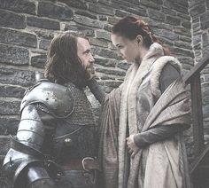 Sansa Stark  Sandor Clegane