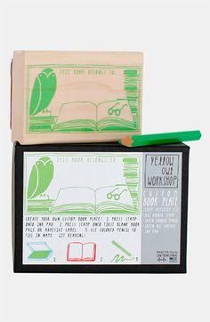 This Book Belongs To' Stamp Kit