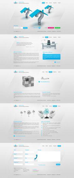 clean web design - #web #design