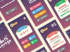 MathLounge Game UI Design by Angga Risky - Dribbble