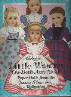 Little Women Paper Dolls by Peck Gandre by thecollectiblechest