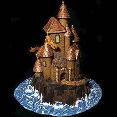 Award winning Gingerbread castle.
