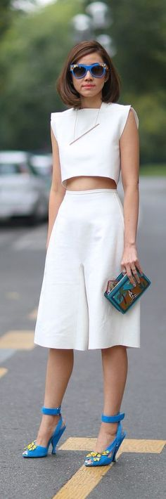 Street Style Inspiration Why Summer Is a Fashion Lover's Favorite Season: We Can Rock a Crop Top Every Day