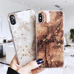 Luxury Gold Foil Bling Marble Phone Case For iPhone X XS Max XR 7 8 6 Plus Glitter Case Features: *. This case is designed for Apple iPhone 6 Iphone 8, Coque Smartphone, Coque Iphone 7 Plus, Marble Iphone Case, Marble Case, Iphone Phone Cases, Apple Iphone, Free Iphone, Phone Covers