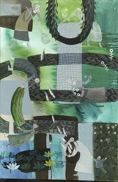 Girls in Green by cate edwards, via Flickr