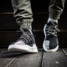 267921f4ddc9 ADIDAS EQT BASKETBALL ADV BLACK SUB GREEN CQ2993 Adidas Running Shoes