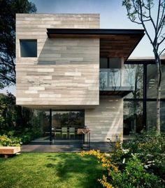 maison cubique, villa contemporaine