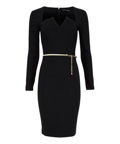 Another great find on #zulily! Black Bridget Dress London Dress Company #zulilyfinds