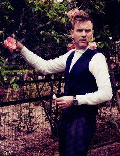 "bohemea: "" Ewan McGregor - GQ Style Italia by Yu Tsai, Fall/Winter "" Ewan Mcgregor, Hot Actors, Actors & Actresses, Hottest Actors, Hollywood Actresses, Scottish Actors, British Actors, Jonathan Rhys Meyers, Ben Barnes"