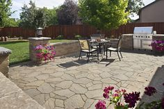 Awesome Stone Patio Designs Perfect For Your Home! Paving Stone Patio,  Stone Walkway, Patio Mosaic Ideas, Backyard Patio, Patio And Backyard Patio  Designs.