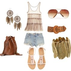 native american influenced outfit (love the earrings Bon Look, Native Style, Fashion Outfits, Womens Fashion, Denim Outfits, Swagg, Passion For Fashion, Dress To Impress, What To Wear