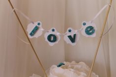 Tiffany Cake Bunting....by Lily and Lace....