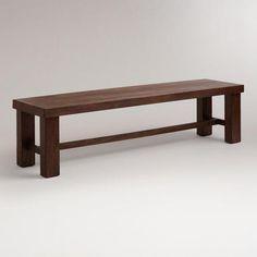 A definite contender for my new dining bench at WorldMarket.com: Francine Dining Bench. #WorldMarketMakeover