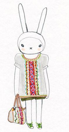 fifi lapin wears tim walker