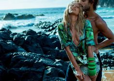 Candice Swanepoel & Marlon Teixeira: Osmoze Jeans 2015 Sexxxxxxyyyyy!!! Damn