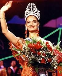 Miss Mexico - Lupita Jones - Miss Universe 1991