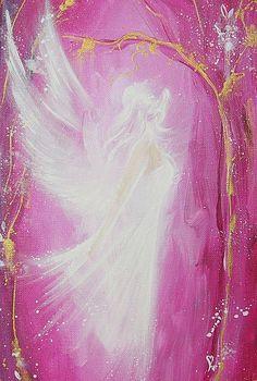 ArT3 ANGEL ART POSTER Guardian angel painting