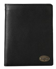 Fossil Gifts, Estate Leather Passport Case