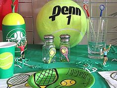 Tennis Party Ideas on Sports Party World