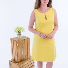 Cute Summer dress. Lime color summer dress from New York and Company. Fresh and casual to wear with sandals on a beautiful summer afternoon or night. Brand New with tags. Size small. New York & Company Dresses