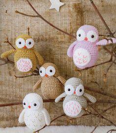 Tutoriel crochet - Chouette