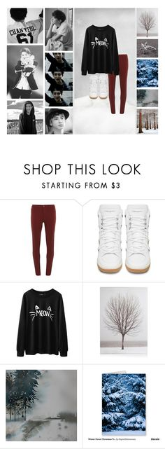 """""""SNOWBALL FIGHT!!"""" by lizziethelacklustre ❤ liked on Polyvore featuring Dorothy Perkins, Yves Saint Laurent, Disney, Winter, music, kpop, EXO and chanyeol"""