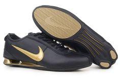 Nike Shox R3 Black Gold