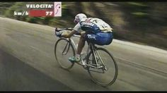 Marco Pantani descending ...