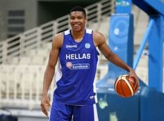 Milwaukee Buck Giannis Antetokounmpo is ready to play with the Greece  National team this summer! d77db076830