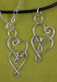 Hand crafted pendants in chain maille jewelry patterns and original artisan ...