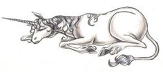 The Unicorn Sleeping by pegacorn.deviantart.com on @deviantART