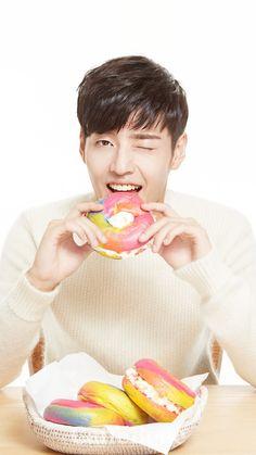 Something sweet with Haneul Kang Ha Neul Smile, Asian Actors, Korean Actors, Kdrama, Kang Haneul, Live Wallpaper Iphone, Asian Eyes, Happy Pills, Moon Lovers