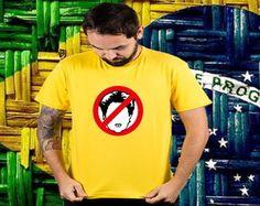 camiseta fora Dilma