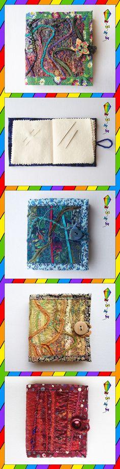 Needle Books by Stripy Kite
