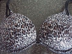 Sexy Little thing victorias secret 34 C, Leoperd print, #VictoriasSecret #PushUpBras