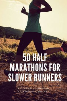 Love running but aren't into speed? Here are 50 half marathons across the United States – one in each state – with generous course time limits that allow you to finish at your own pace. via Half Marat Running Humor, Running Workouts, Running Tips, Running Songs, Trail Running, Running Buddies, Beginner Half Marathon Training, Marathon Running, Love Run