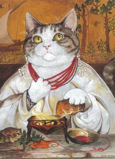 tokuhiro kawai | Tokuhiro Kawai CAT ART • My cat - Haru | CAT ART | Pinterest ...