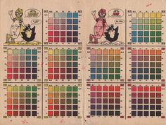 Chemical Color Plate used by comicers in the past