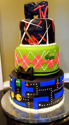 Kandices Cakes 80s Cake